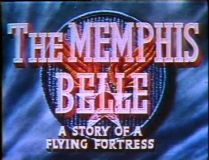 Memphis Belle A Story of a B-17 Flying Fortress 1944 DVD - Robert K. Morgan